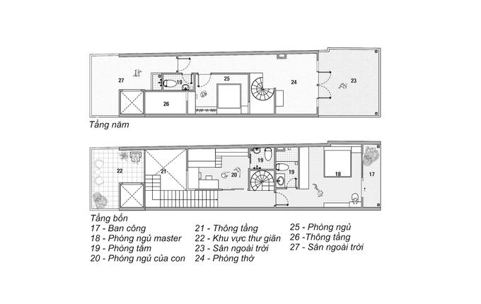 Ngôi nhà 'hai trong một' của giám đốc - Ảnh 17