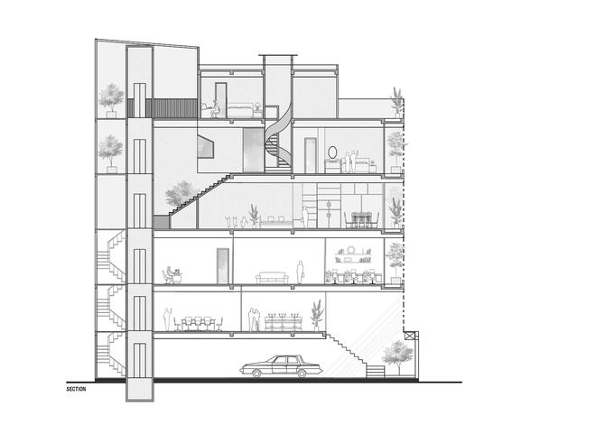 Ngôi nhà 'hai trong một' của giám đốc - Ảnh 5