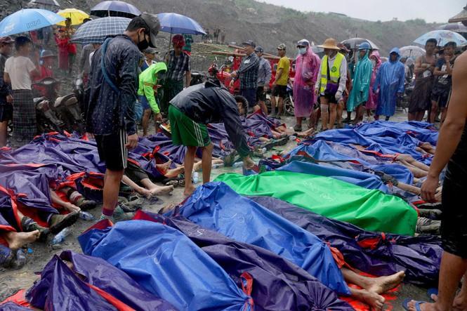 Lở đất mỏ ngọc bích Myanmar: 162 người chết, nhân viên cứu hộ chỉ chờ vớt xác - Ảnh 3