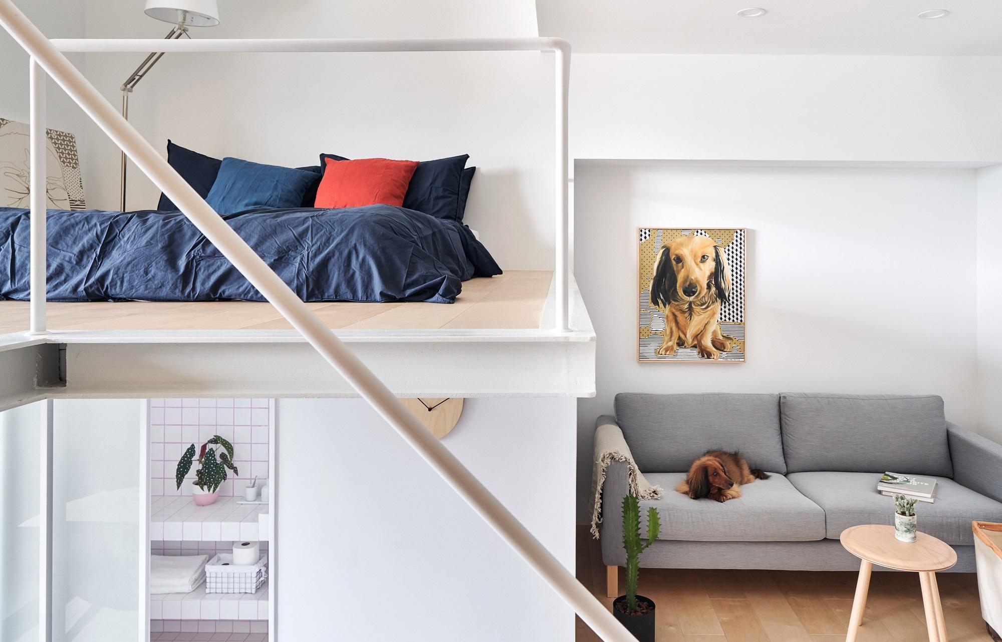 Căn hộ rộng 33m² siêu ấn tượng từ cách thiết kế đến bài trí nội thất - Ảnh 8