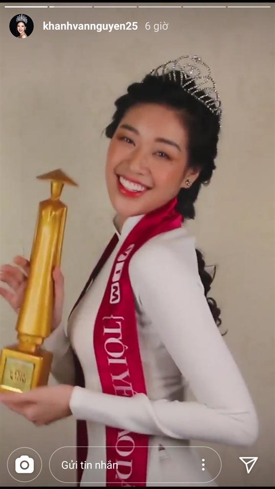 Hoa hậu Khánh Vân tái hiện khoảnh khắc đăng quang 7 năm trước, nhan sắc thay đổi quá nhiều - Ảnh 1