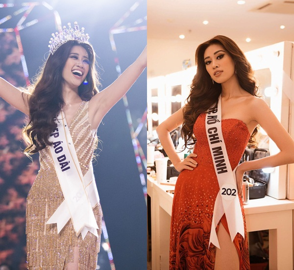 Hoa hậu Khánh Vân tái hiện khoảnh khắc đăng quang 7 năm trước, nhan sắc thay đổi quá nhiều - Ảnh 4