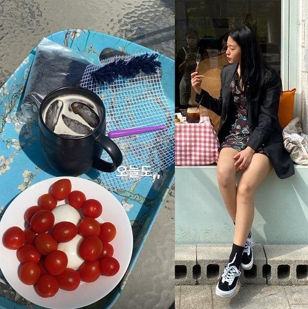 Seolhyun mỗi bữa chỉ ăn cà chua bi và trứng luộc để giữ dáng? - Ảnh 1
