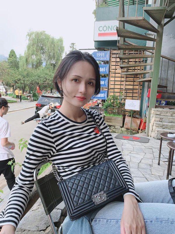 Chị gái công chúa béo Quỳnh Anh ăn mặc sang chảnh, túi Hermes nhiều hơn cả em gái - Ảnh 5