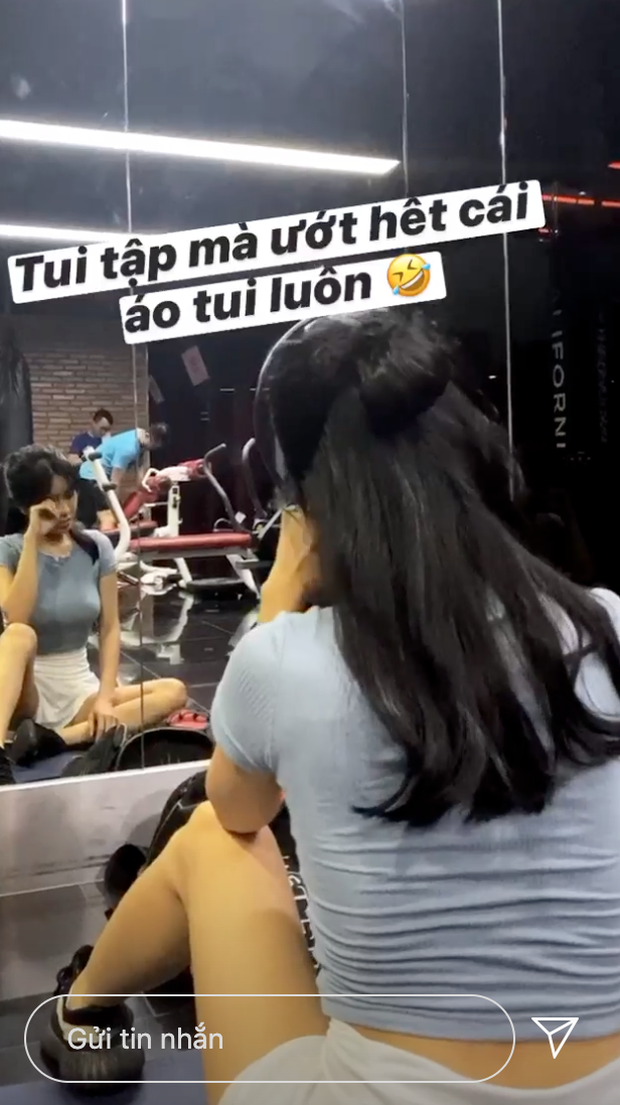 Hot girl Hải Phòng khoe vòng eo cực thon khiến dân tình trầm trồ - Ảnh 2