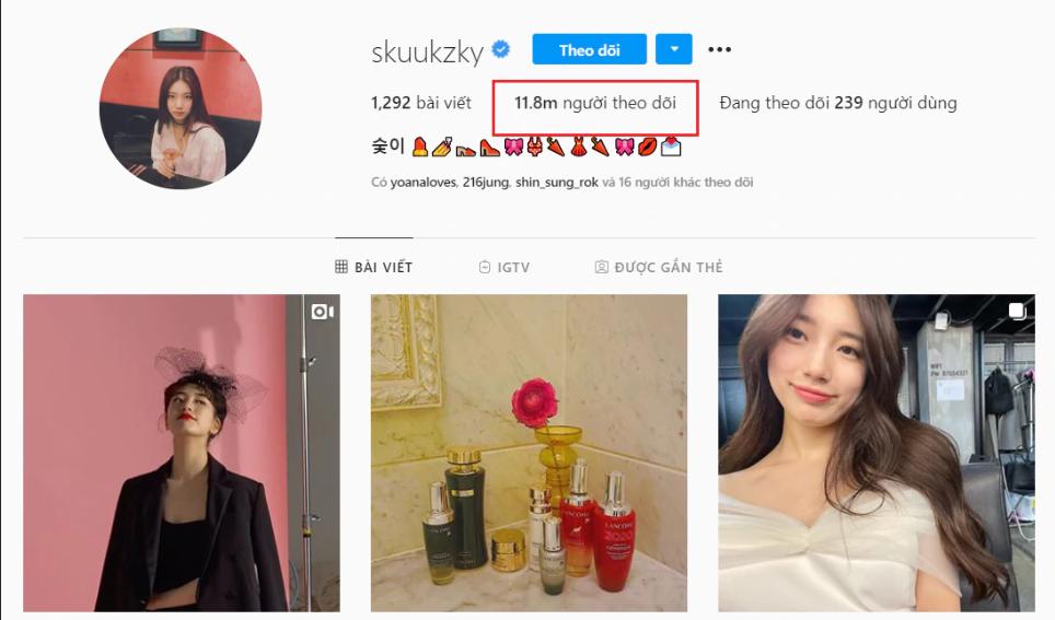 5 nữ diễn viên Hàn quyền lực nhất Instagram: Hội tụ 'sang - sạch - đẹp'! - Ảnh 4