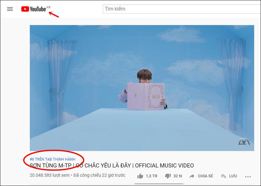 """MV mới lọt top 8 trending Hàn, Knet nghi fan Sơn Tùng """"chiêu trò"""" - Ảnh 1"""