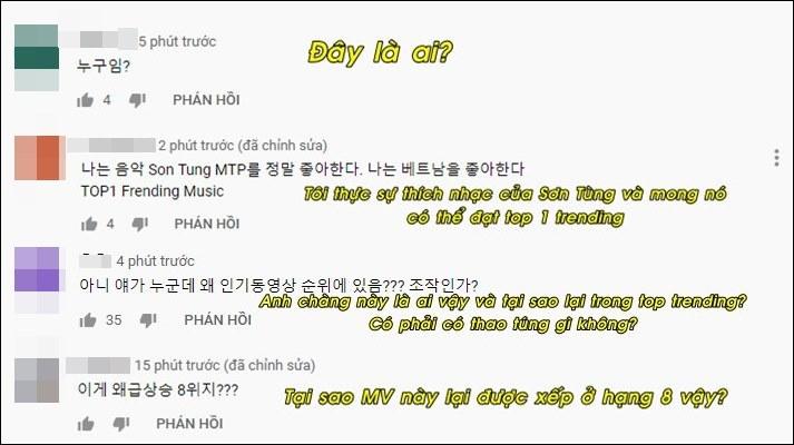 """MV mới lọt top 8 trending Hàn, Knet nghi fan Sơn Tùng """"chiêu trò"""" - Ảnh 2"""