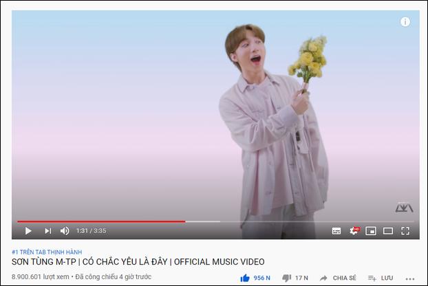 """MV mới lọt top 8 trending Hàn, Knet nghi fan Sơn Tùng """"chiêu trò"""" - Ảnh 5"""