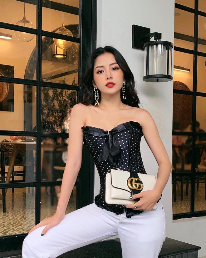 Dàn sao từ Hàn sang Việt đua nhau diện corset khoe eo thon ngực đầy - Ảnh 7