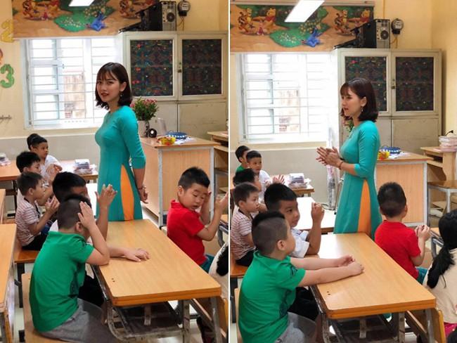 Dàn cô giáo tiểu học sở hữu thân hình vạn người mê ngoài đời - Ảnh 1