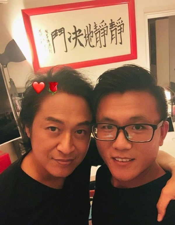 Không ngờ mỹ nam phim Quỳnh Dao đã lên chức ông nội, chụp với con trai như 2 anh em - Ảnh 1