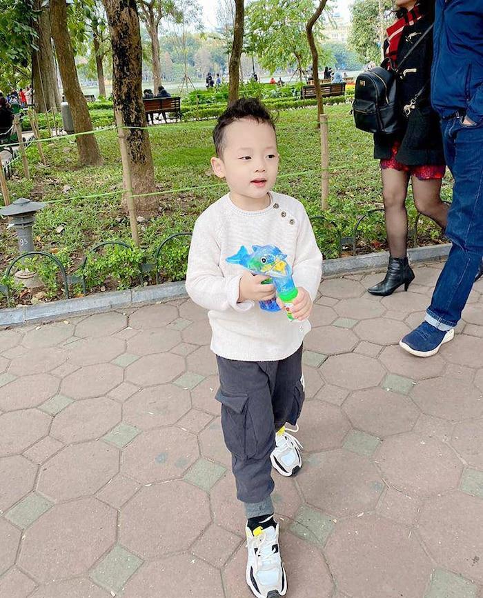 Ly Kute lần đầu công khai tên thật của con trai và biệt danh mà cô giáo đặt cho cậu bé ở trường - Ảnh 2