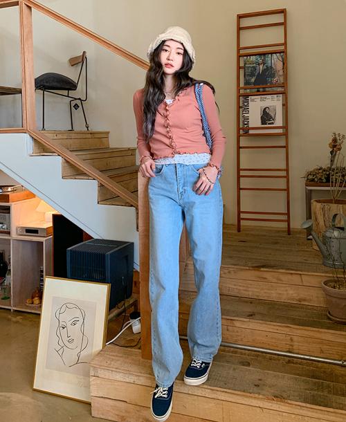 3 kiểu quần jeans hot nhất hè được Black Pink lăng xê - Ảnh 9