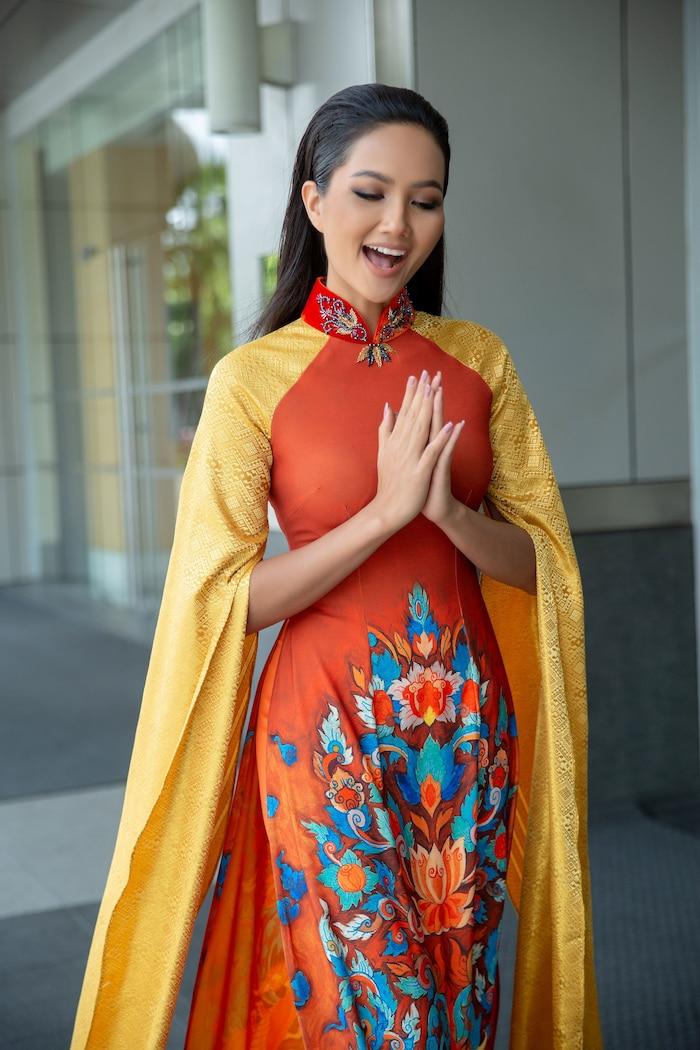 4 Hoa hậu Hoàn vũ Việt Nam: Thùy Lâm - H'Hen Niê thành công rực rỡ, Khánh Vân có lập kỳ tích tại Miss Universe? - Ảnh 10