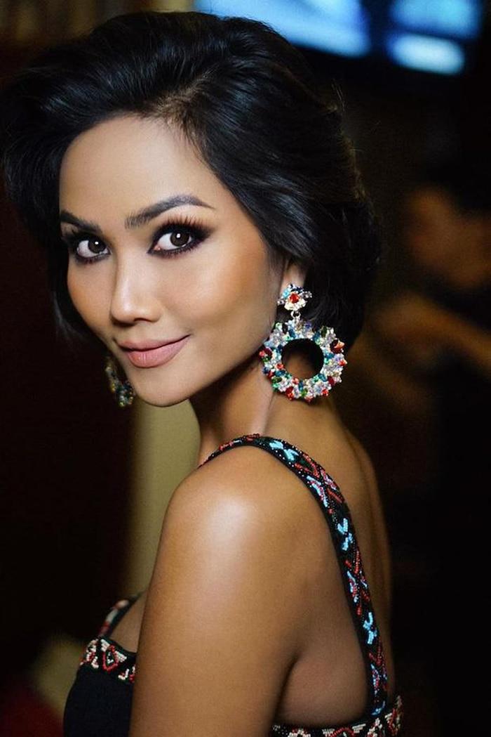 4 Hoa hậu Hoàn vũ Việt Nam: Thùy Lâm - H'Hen Niê thành công rực rỡ, Khánh Vân có lập kỳ tích tại Miss Universe? - Ảnh 12