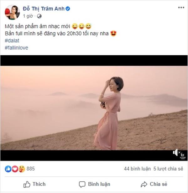 Giữa nghi vấn 'cặp kè' đại gia, Trâm Anh tiết lộ ra MV nhạc nhưng sốc nhất là phản ứng dân mạng - Ảnh 4