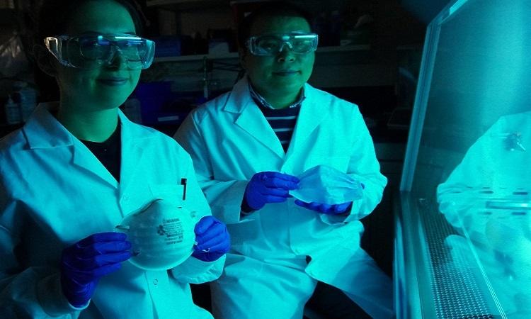 Khẩu trang phủ muối có thể vô hiệu hóa virus corona - Ảnh 1