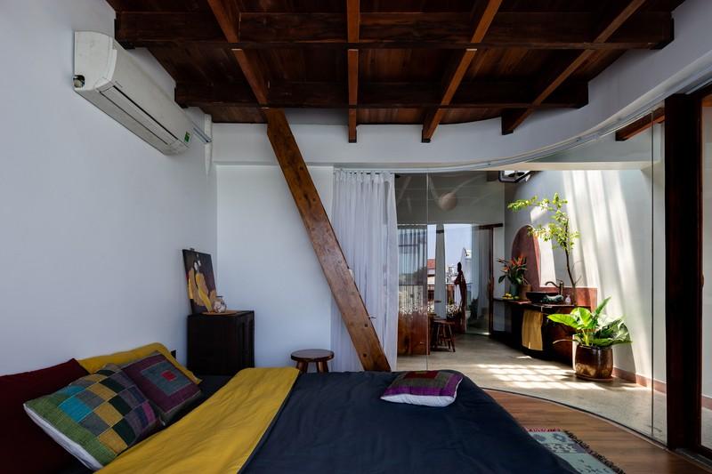Nhà ở kết hợp với studio áo cưới được bố trí hợp lý - Ảnh 12