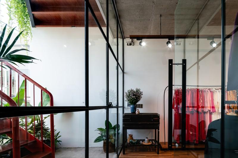 Nhà ở kết hợp với studio áo cưới được bố trí hợp lý - Ảnh 3