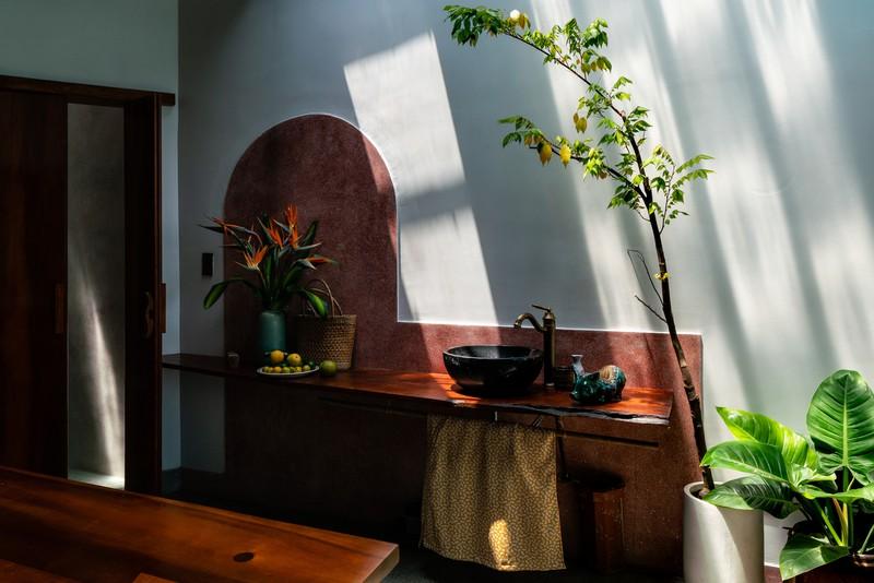 Nhà ở kết hợp với studio áo cưới được bố trí hợp lý - Ảnh 8