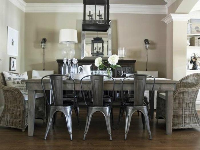 Những ý tưởng tạo vẻ đẹp 'thời thượng' cho phòng ăn bằng bí quyết kết hợp nội thất - Ảnh 11