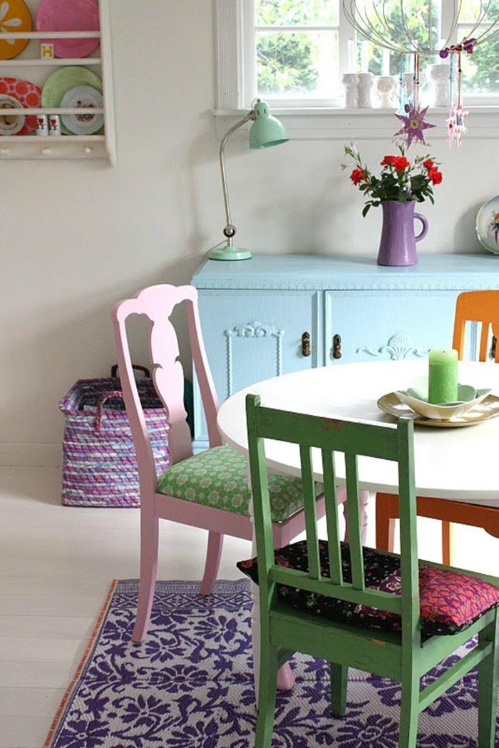 Những ý tưởng tạo vẻ đẹp 'thời thượng' cho phòng ăn bằng bí quyết kết hợp nội thất - Ảnh 12