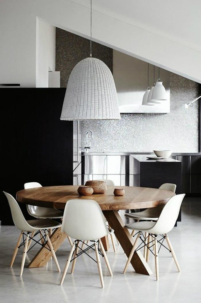 Những ý tưởng tạo vẻ đẹp 'thời thượng' cho phòng ăn bằng bí quyết kết hợp nội thất - Ảnh 13