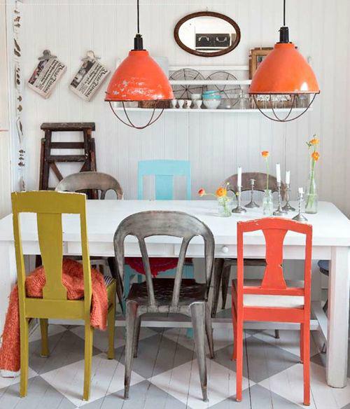 Những ý tưởng tạo vẻ đẹp 'thời thượng' cho phòng ăn bằng bí quyết kết hợp nội thất - Ảnh 16