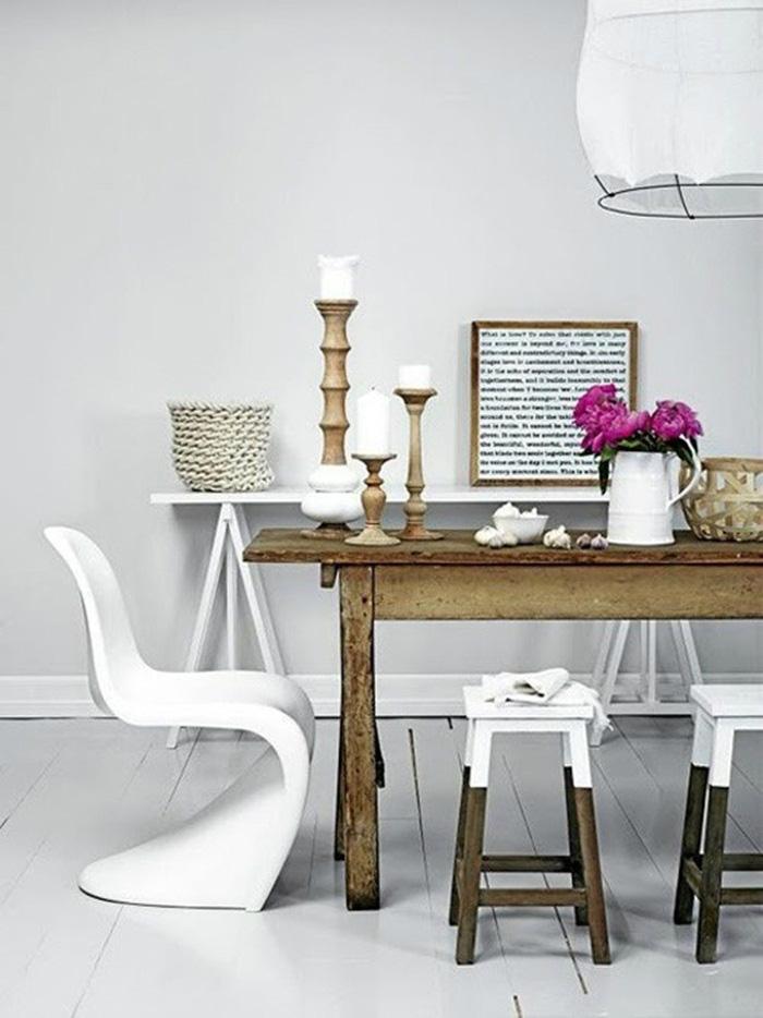 Những ý tưởng tạo vẻ đẹp 'thời thượng' cho phòng ăn bằng bí quyết kết hợp nội thất - Ảnh 17