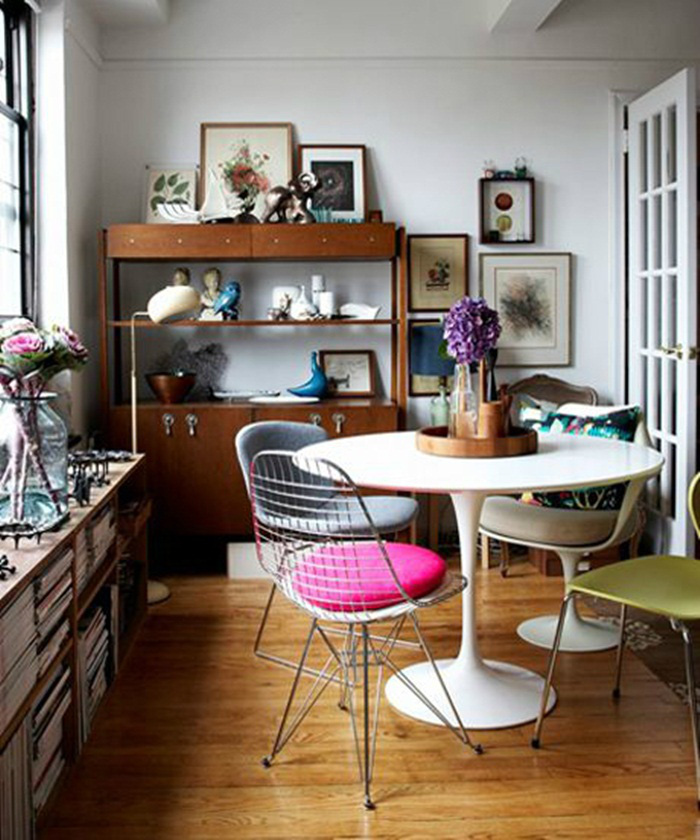 Những ý tưởng tạo vẻ đẹp 'thời thượng' cho phòng ăn bằng bí quyết kết hợp nội thất - Ảnh 18