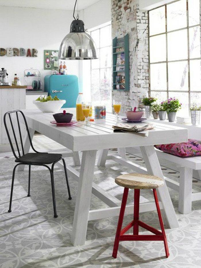 Những ý tưởng tạo vẻ đẹp 'thời thượng' cho phòng ăn bằng bí quyết kết hợp nội thất - Ảnh 19