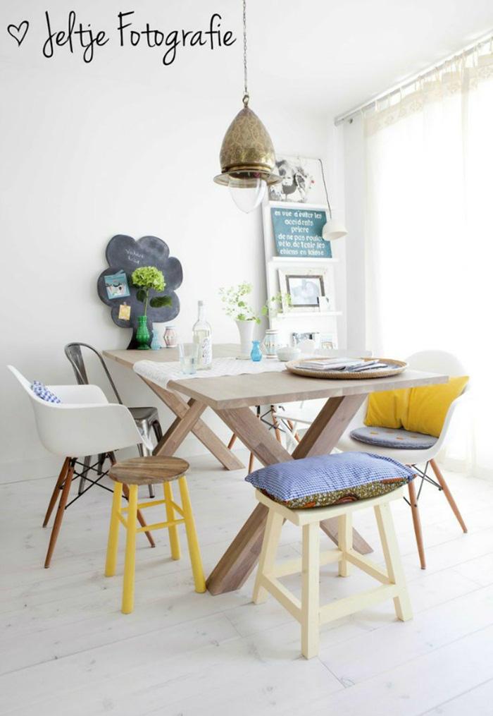 Những ý tưởng tạo vẻ đẹp 'thời thượng' cho phòng ăn bằng bí quyết kết hợp nội thất - Ảnh 1