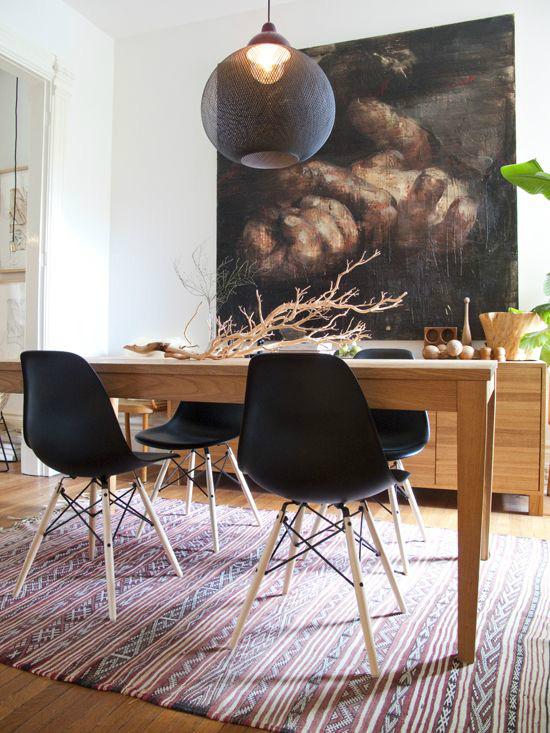 Những ý tưởng tạo vẻ đẹp 'thời thượng' cho phòng ăn bằng bí quyết kết hợp nội thất - Ảnh 4
