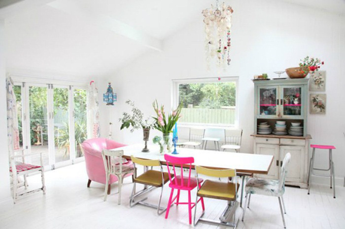 Những ý tưởng tạo vẻ đẹp 'thời thượng' cho phòng ăn bằng bí quyết kết hợp nội thất - Ảnh 6