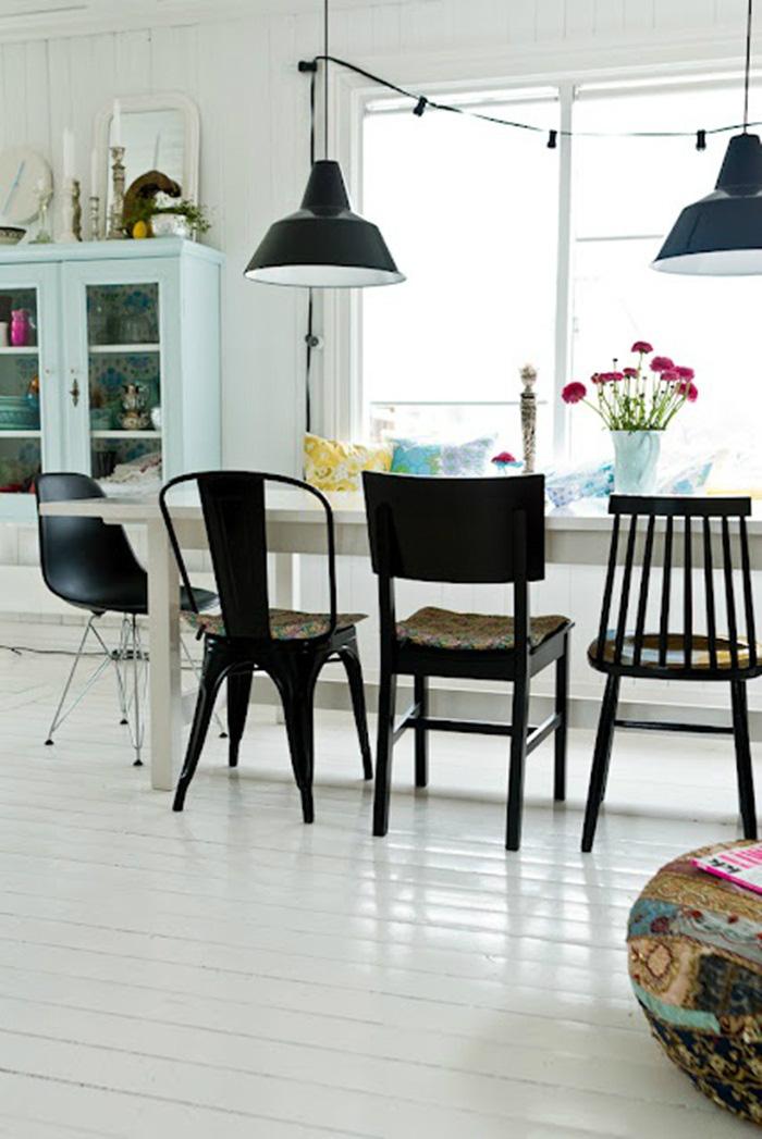Những ý tưởng tạo vẻ đẹp 'thời thượng' cho phòng ăn bằng bí quyết kết hợp nội thất - Ảnh 8