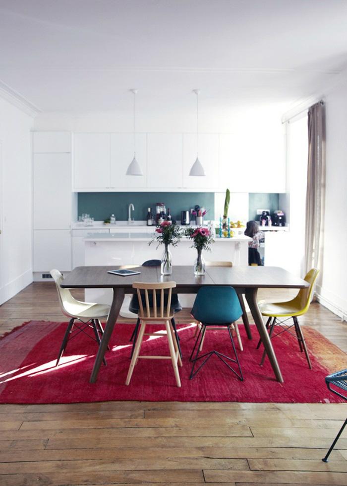 Những ý tưởng tạo vẻ đẹp 'thời thượng' cho phòng ăn bằng bí quyết kết hợp nội thất - Ảnh 9