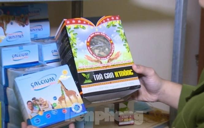 Triệt phá cơ sở sản xuất hàng nghìn chai nước rửa tay giả ở Thái Bình - Ảnh 2