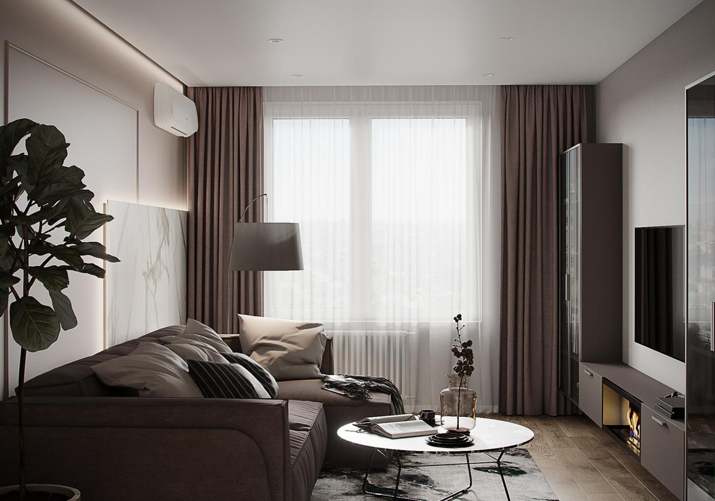 Tư vấn thiết kế căn hộ thô có diện tích 54m² với tổng chi phí 83 triệu đồng - Ảnh 2