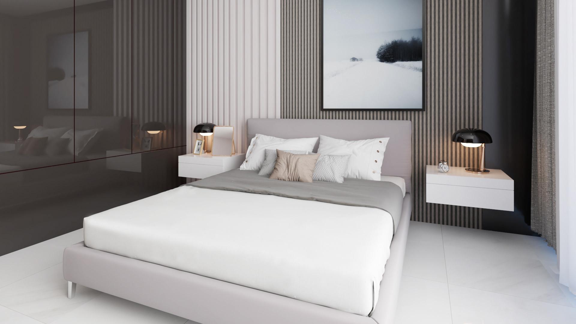 Tư vấn thiết kế căn hộ thô có diện tích 54m² với tổng chi phí 83 triệu đồng - Ảnh 6