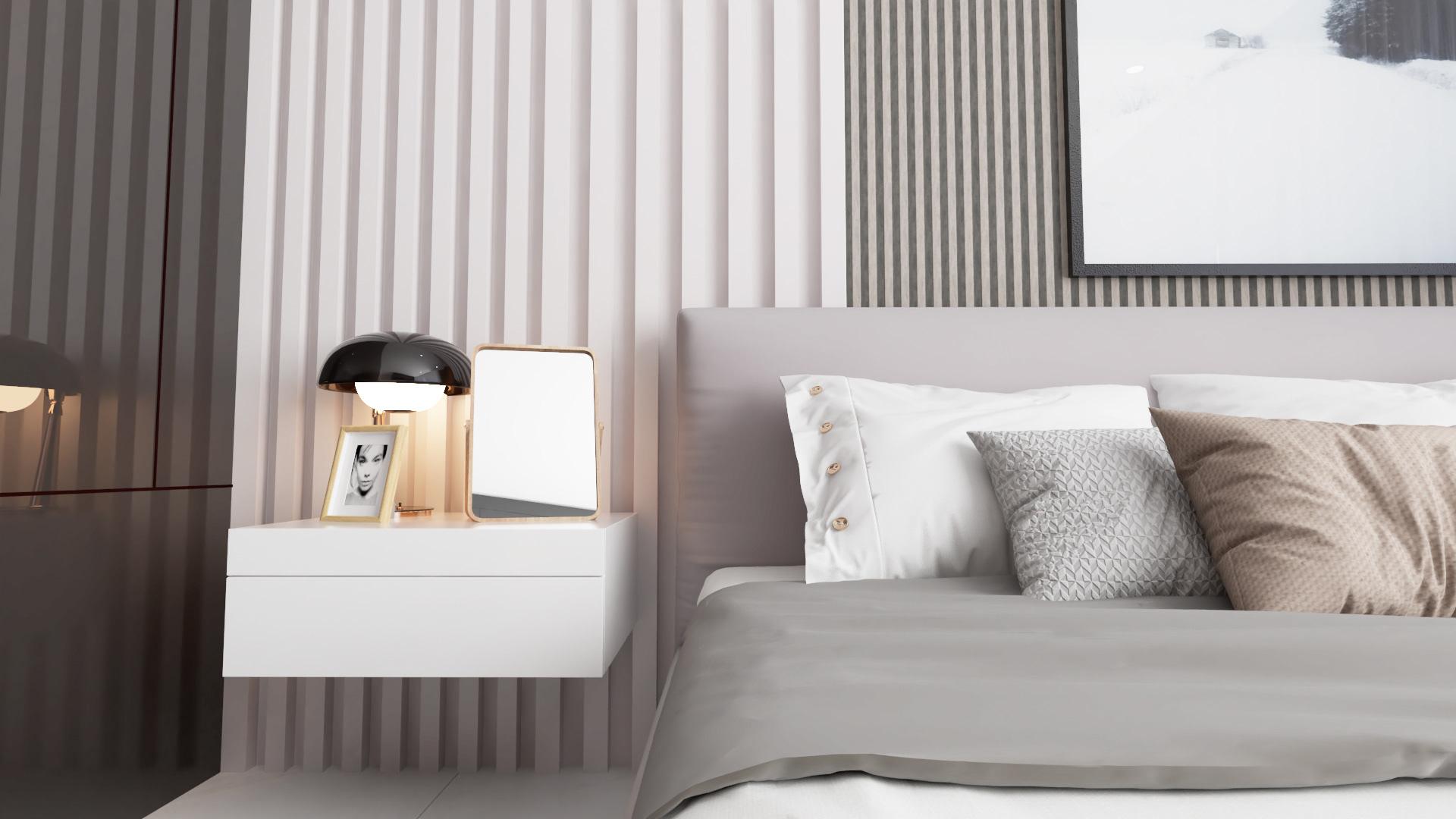 Tư vấn thiết kế căn hộ thô có diện tích 54m² với tổng chi phí 83 triệu đồng - Ảnh 7