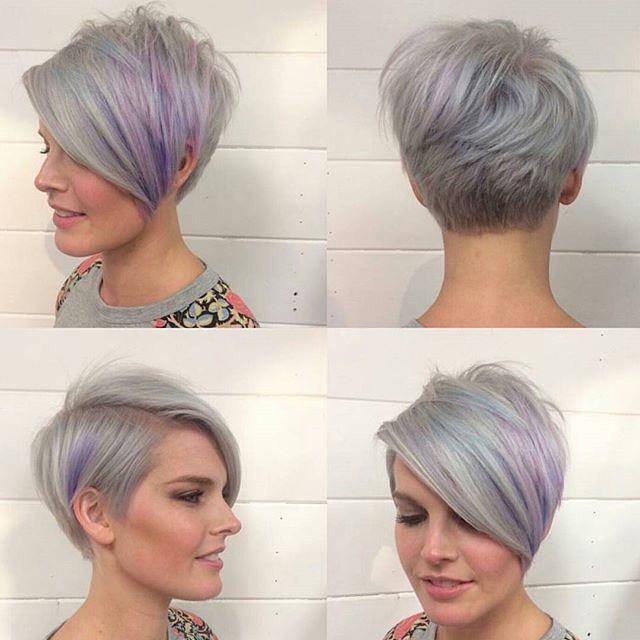 Mái tóc bob ngắn không đối xứng là lựa chọn cực chất cho những bạn nữ cá tính mạnh