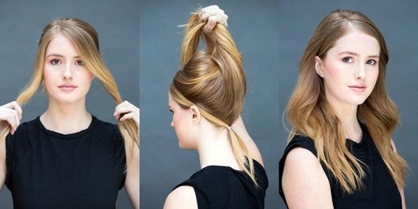 Đổi mới diện mạo chỉ trong 1 phút với những kiểu tóc đơn giản dễ làm - Ảnh 9