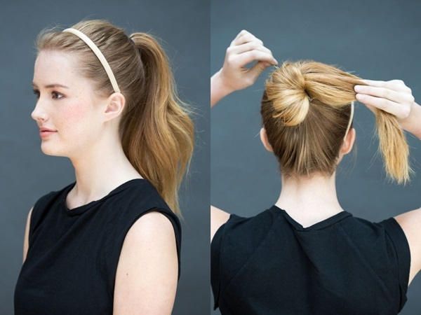 Đổi mới diện mạo chỉ trong 1 phút với những kiểu tóc đơn giản dễ làm - Ảnh 1