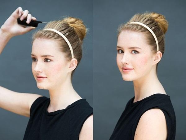Đổi mới diện mạo chỉ trong 1 phút với những kiểu tóc đơn giản dễ làm - Ảnh 2
