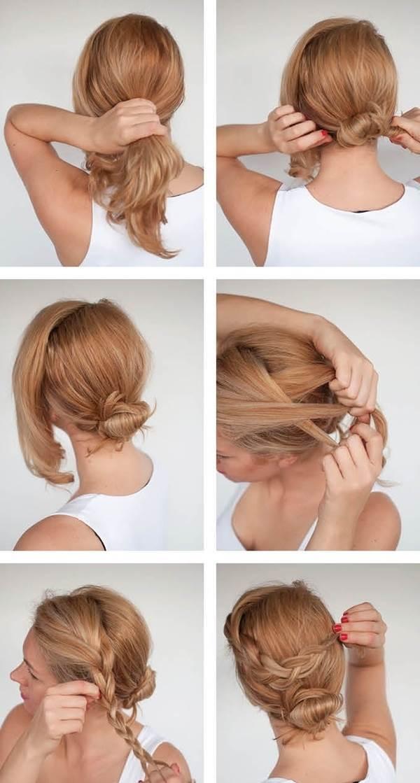 Đẹp ngẩn ngơ với các kiểu búi tóc đơn giản - Ảnh 4