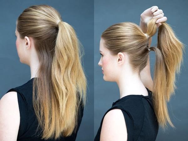 Đổi mới diện mạo chỉ trong 1 phút với những kiểu tóc đơn giản dễ làm - Ảnh 3