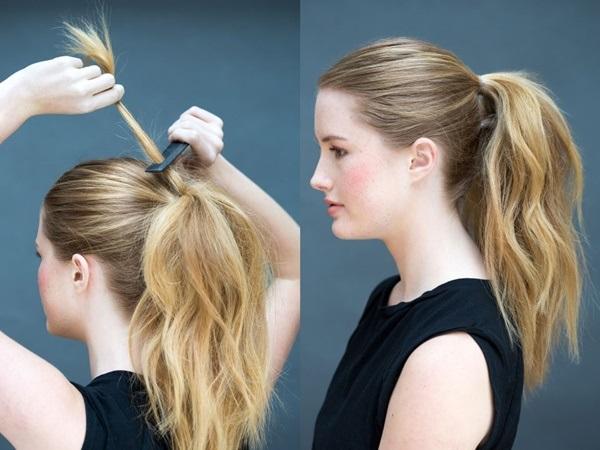 Đổi mới diện mạo chỉ trong 1 phút với những kiểu tóc đơn giản dễ làm - Ảnh 4