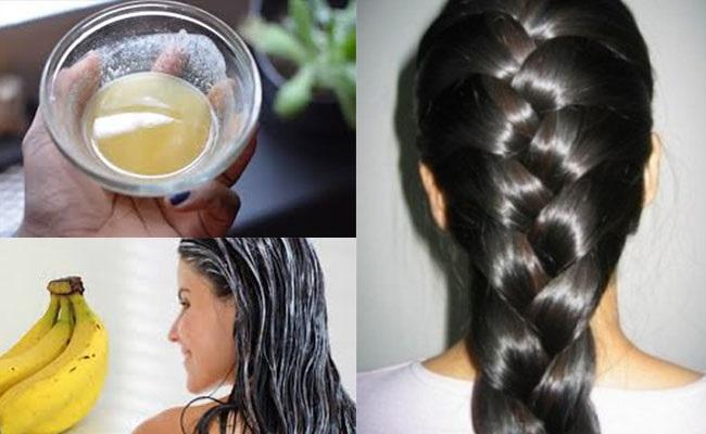 Tóc khô xơ đến mấy cũng mềm mượt tức thì với công thức ủ tóc từ chuối ai cũng có thể làm được - Ảnh 1