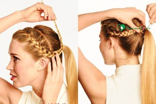 Hướng dẫn các kiểu tết tóc đẹp thịnh hành nhất nhất hiện nay - Ảnh 1